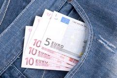 ευρωπαϊκά χρήματα στοκ εικόνα