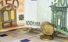 Ευρωπαϊκά χρήματα 22 στοκ εικόνα