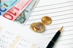 ευρωπαϊκή ένωση νομίσματο&sig Στοκ Εικόνες