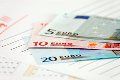 ευρωπαϊκή ένωση νομίσματο&sig Στοκ Φωτογραφία