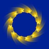 ευρωπαϊκή ένωση σημαιών Στοκ Φωτογραφίες