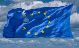 ευρωπαϊκή ένωση σημαιών Brexit Στοκ Εικόνες