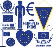ευρωπαϊκή ένωση Στοκ φωτογραφία με δικαίωμα ελεύθερης χρήσης