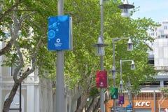 Ευρωπαϊκή αφίσα παιχνιδιών 2015 στο Μπακού Στοκ Εικόνες