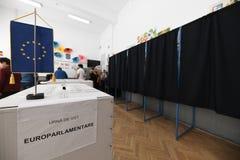 Ευρωπαϊκή εκλογή στο Βουκουρέστι, Ρουμανία στοκ φωτογραφία με δικαίωμα ελεύθερης χρήσης