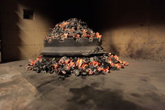 Ευρωπαϊκή κουκούλα ψησίματος Στοκ Εικόνες