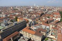 Ευρωπαϊκή μητρόπολη με πολλές στέγες στοκ φωτογραφία με δικαίωμα ελεύθερης χρήσης