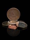 ευρωπαϊκή ΟΔΓ νομισμάτων ένωση της ΟΔΓ Στοκ Φωτογραφίες