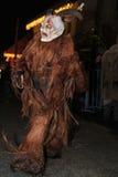 Ευρωπαϊκή παραδοσιακή μάσκα Parkelj Στοκ φωτογραφία με δικαίωμα ελεύθερης χρήσης