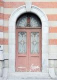 Ευρωπαϊκή πόρτα Στοκ Φωτογραφία