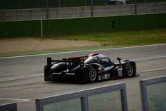 Ευρωπαϊκή σειρά του Le Mans Ginetta - Nissan σε Imola Στοκ φωτογραφία με δικαίωμα ελεύθερης χρήσης