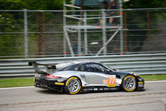 Ευρωπαϊκή σειρά Porsche 911 RSR του Le Mans Στοκ εικόνα με δικαίωμα ελεύθερης χρήσης