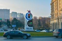 Ευρωπαϊκοί αγώνες 2015, Μπακού Αζερμπαϊτζάν Στοκ Εικόνα
