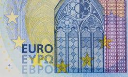 Ευρωπαϊκοί λογαριασμοί χρημάτων (μακρο πυροβολισμός) στοκ φωτογραφίες με δικαίωμα ελεύθερης χρήσης