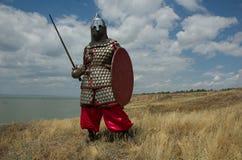 ευρωπαϊκός ιππότης μεσαιωνικός Στοκ Εικόνες