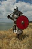 ευρωπαϊκός ιππότης μεσαι&ome Στοκ Φωτογραφία