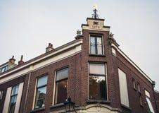 ευρωπαϊκός παραδοσιακό&sig Ουτρέχτη - Ολλανδία Στοκ Φωτογραφία