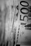 ευρωπαϊκό έγγραφο νομίσμα& Στοκ Εικόνες