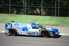 Ευρωπαϊκό αθλητικό πρωτότυπο Dallara σειράς του Le Mans Στοκ εικόνες με δικαίωμα ελεύθερης χρήσης