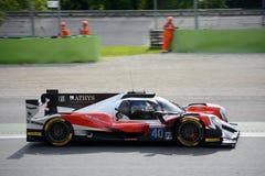 Ευρωπαϊκό αθλητικό πρωτότυπο Oreca σειράς του Le Mans Στοκ φωτογραφίες με δικαίωμα ελεύθερης χρήσης