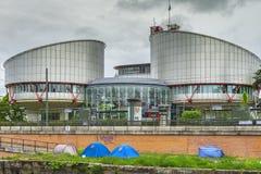 Ευρωπαϊκό Δικαστήριο για τα ανθρώπινα δικαιώματα Στοκ Εικόνες