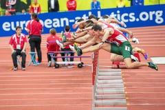 Ευρωπαϊκό εσωτερικό πρωτάθλημα 2015 αθλητισμού Στοκ Εικόνα