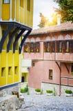 Ευρωπαϊκό κεφάλαιο του πολιτισμού το 2019: Παλαιά πόλη Plovdiv, Βουλγαρία Στοκ Φωτογραφίες