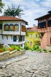 Ευρωπαϊκό κεφάλαιο του πολιτισμού το 2019: Παλαιά πόλη Plovdiv, Βουλγαρία Στοκ φωτογραφία με δικαίωμα ελεύθερης χρήσης