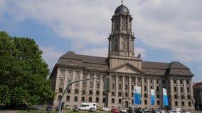 Ευρωπαϊκό κτήριο, παλαιό Δημαρχείο Altes Stadthaus στην πλατεία Molkenmarkt απόθεμα βίντεο