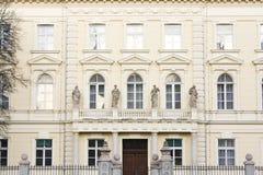 ευρωπαϊκό λευκό σπιτιών Στοκ φωτογραφίες με δικαίωμα ελεύθερης χρήσης