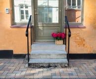 Ευρωπαϊκό μέρος σπιτιών Στοκ Εικόνα