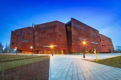Ευρωπαϊκό μουσείο αλληλεγγύης στο Γντανσκ Στοκ Εικόνες