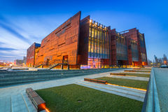 Ευρωπαϊκό μουσείο αλληλεγγύης στο Γντανσκ Στοκ Εικόνα
