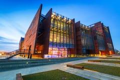 Ευρωπαϊκό μουσείο αλληλεγγύης στο Γντανσκ Στοκ Φωτογραφία