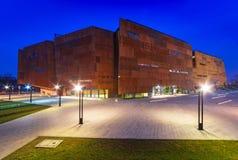 Ευρωπαϊκό μουσείο αλληλεγγύης στο Γντανσκ Στοκ φωτογραφία με δικαίωμα ελεύθερης χρήσης