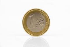 Ευρωπαϊκό νόμισμα, ευρο- μακροεντολή νομισμάτων - χρήματα Στοκ εικόνες με δικαίωμα ελεύθερης χρήσης