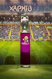 ευρωπαϊκό ποδόσφαιρο φλυτζανιών πρωταθλήματος του 2012 Στοκ εικόνα με δικαίωμα ελεύθερης χρήσης