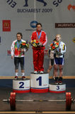 Ευρωπαϊκό πρωτάθλημα Weightlifting, Βουκουρέστι, Ρουμανία, 2009 Στοκ εικόνες με δικαίωμα ελεύθερης χρήσης