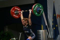 Ευρωπαϊκό πρωτάθλημα Weightlifting, Βουκουρέστι, Ρουμανία, 2009 Στοκ εικόνα με δικαίωμα ελεύθερης χρήσης