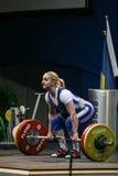 Ευρωπαϊκό πρωτάθλημα Weightlifting, Βουκουρέστι, Ρουμανία, 2009 Στοκ Εικόνες