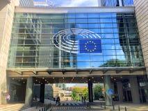 Ευρωπαϊκό τέταρτο στις Βρυξέλλες, Βέλγιο Στοκ εικόνες με δικαίωμα ελεύθερης χρήσης