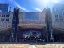 Ευρωπαϊκό τέταρτο στις Βρυξέλλες, Βέλγιο Στοκ φωτογραφίες με δικαίωμα ελεύθερης χρήσης