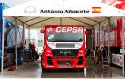 ευρωπαϊκό truck αγώνα FIA πρωταθλήματος του 2012 Στοκ Φωτογραφία
