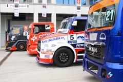 ευρωπαϊκό truck αγώνα FIA πρωταθλήματος του 2012 Στοκ Φωτογραφίες