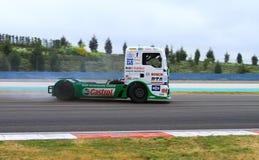 ευρωπαϊκό truck αγώνα FIA πρωταθλήματος του 2012 Στοκ Εικόνες