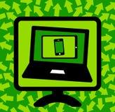 ευρύς κόσμος Ιστού τεχνολογίας πληροφοριών έννοιας διανυσματική απεικόνιση