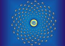 ευρύς κόσμος Ιστού υπολ& Στοκ φωτογραφία με δικαίωμα ελεύθερης χρήσης