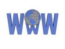 ευρύς κόσμος Ιστού ελεύθερη απεικόνιση δικαιώματος