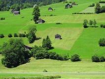 Ευρύχωρο χωριό επαρχίας διαβίωσης Στοκ φωτογραφίες με δικαίωμα ελεύθερης χρήσης