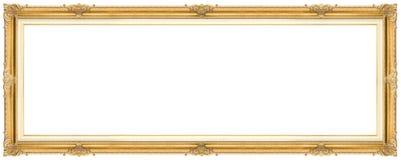 Ευρύ χρυσό πλαίσιο στοκ φωτογραφία με δικαίωμα ελεύθερης χρήσης